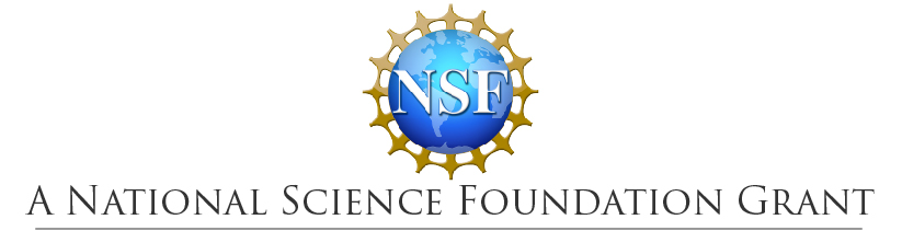 The National Science Foundation logo above the words 'A National Science Foundation Grant'