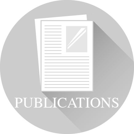 Icon of pages of a paper and the word 'Publications'
