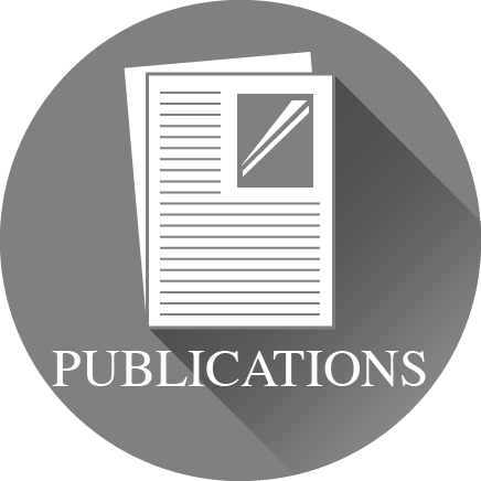 the word 'Publications' and an icon of an article