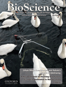 A picture of the cover of BioScience magazine