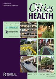 Image of the cover of Cities and Health Journal