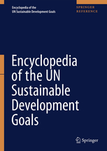 image of the cover of the encyclopedia of un sustainable development goals