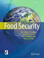 Cover of Food Security Magazine