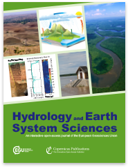 cover of Hydrology and Earth Science Systems journal