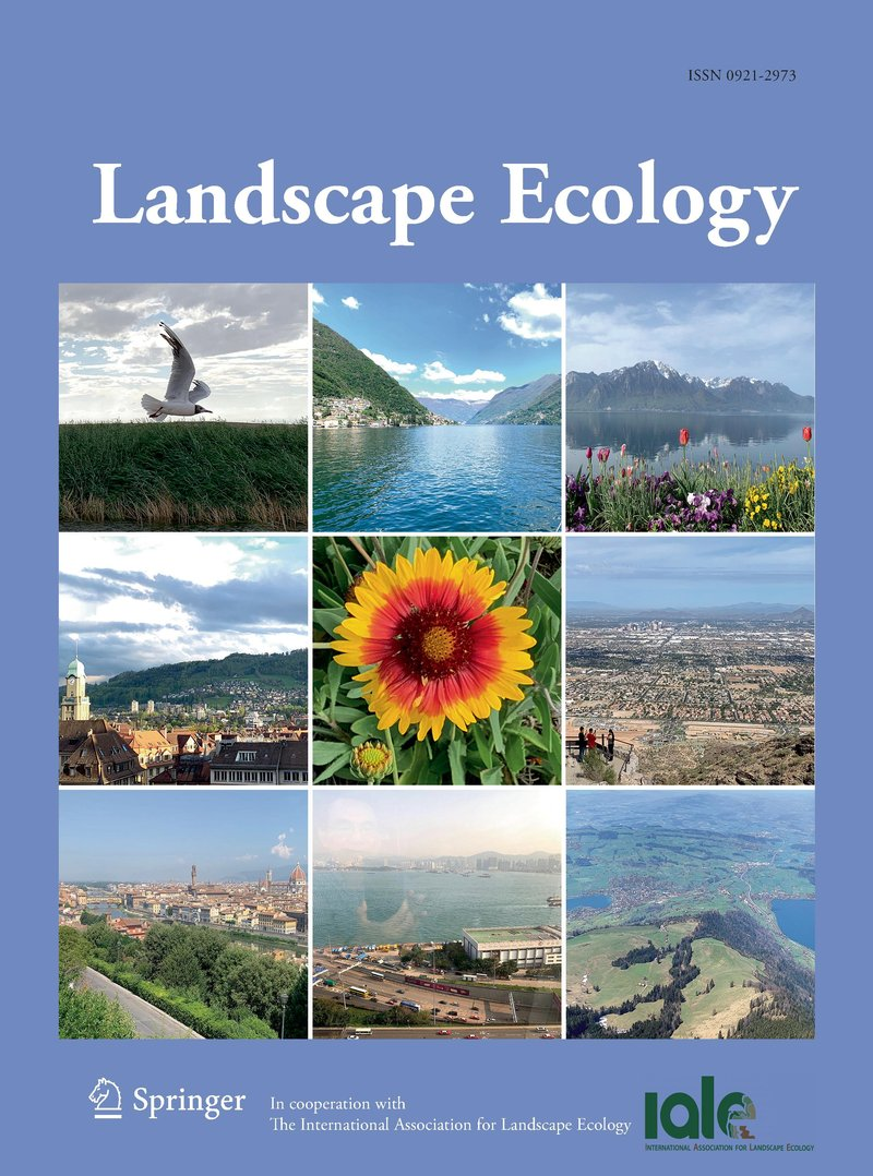 Image of the cover of Landscape Ecology