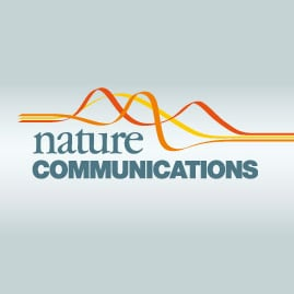Logo for Nature Communications journal
